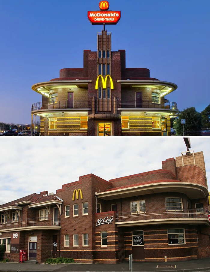 Art Deco McDonald's (Date Unknown) Clifton Hill, Melbourne, Australia