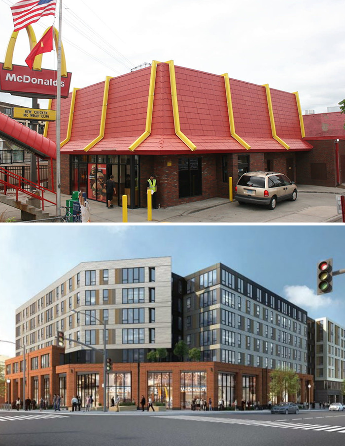 Dinkytown McDonald's (1963) Minneapolis, Mn