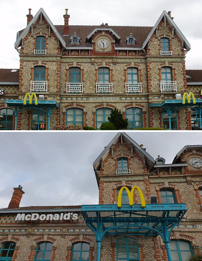Gennevilliers Station McDonald's (Date Unknown) Gennevilliers, Near Paris, France