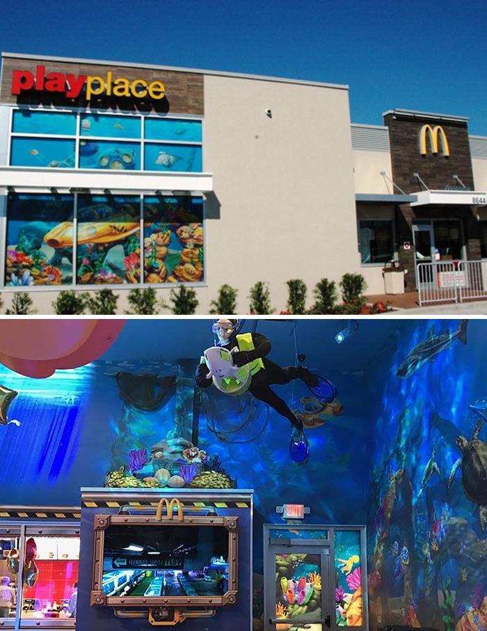 Undersea McDonald's (Date Unknown) Navarre, Fl