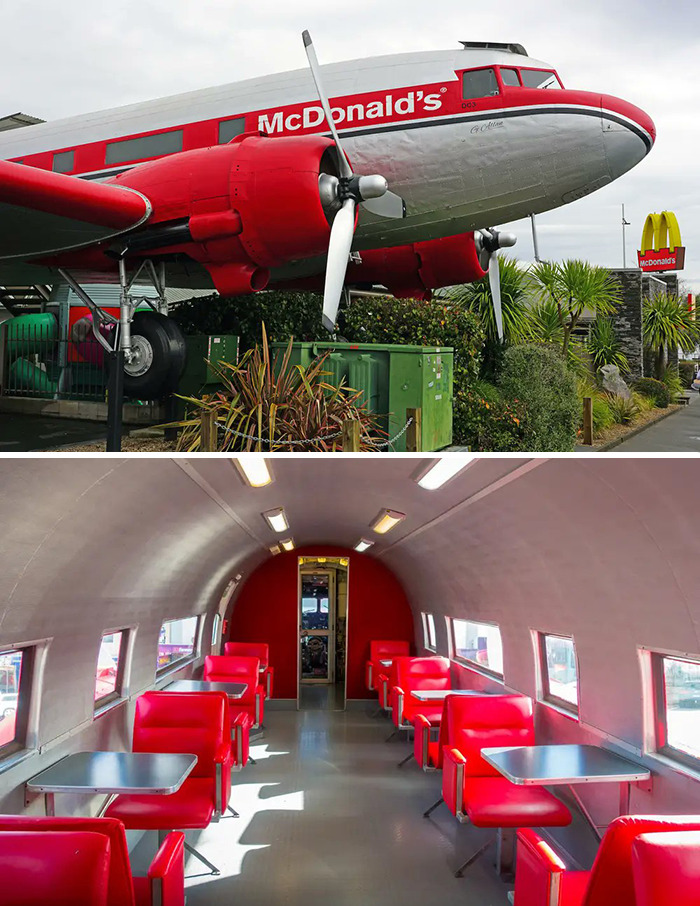 Airplane McDonald's (1990) Taupo, New Zealand