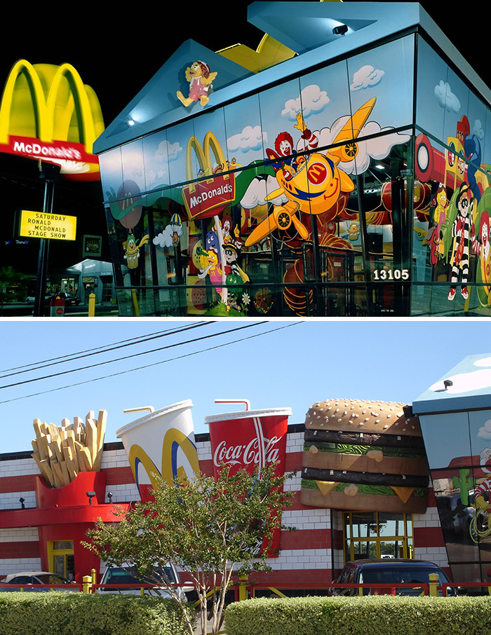 Giant Happy Meal McDonald's (Early 1990's) Dallas, Tx