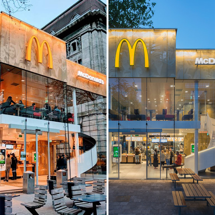Coolsingel McDonald's (2015) Rotterdam, The Netherlands