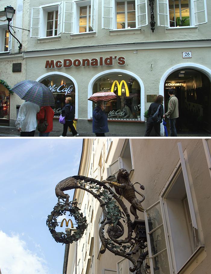 Getreidegasse McDonald's (Date Unknown) Salzburg, Austria