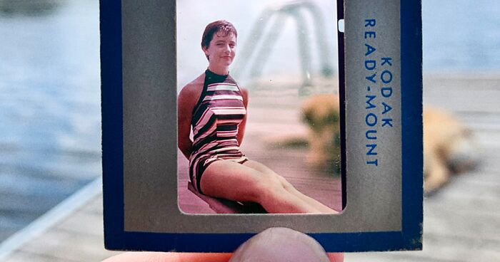 Photographer Uses Her Dad's Old Slides To Create A Nostalgic Photo Series (31 Pics)