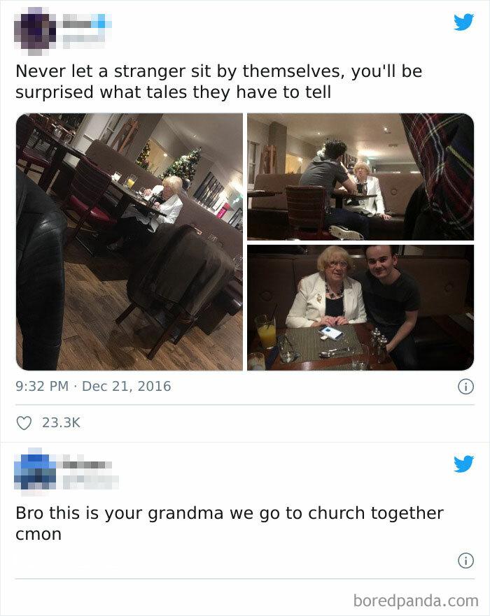 Not My Grandma??