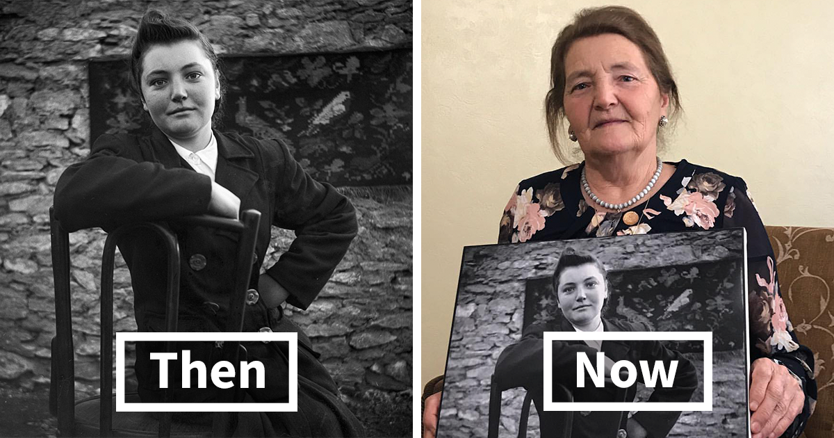 This Student Searched For People From Old Photographs Taken by A Village Photographer, Found 6 Of Them