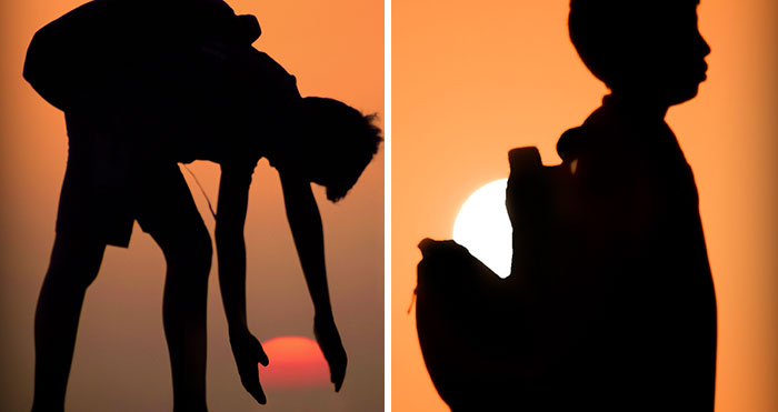 I Found My Passion For Doing Sunset Silhouettes, Here Are 27 Of My Favorite Ones