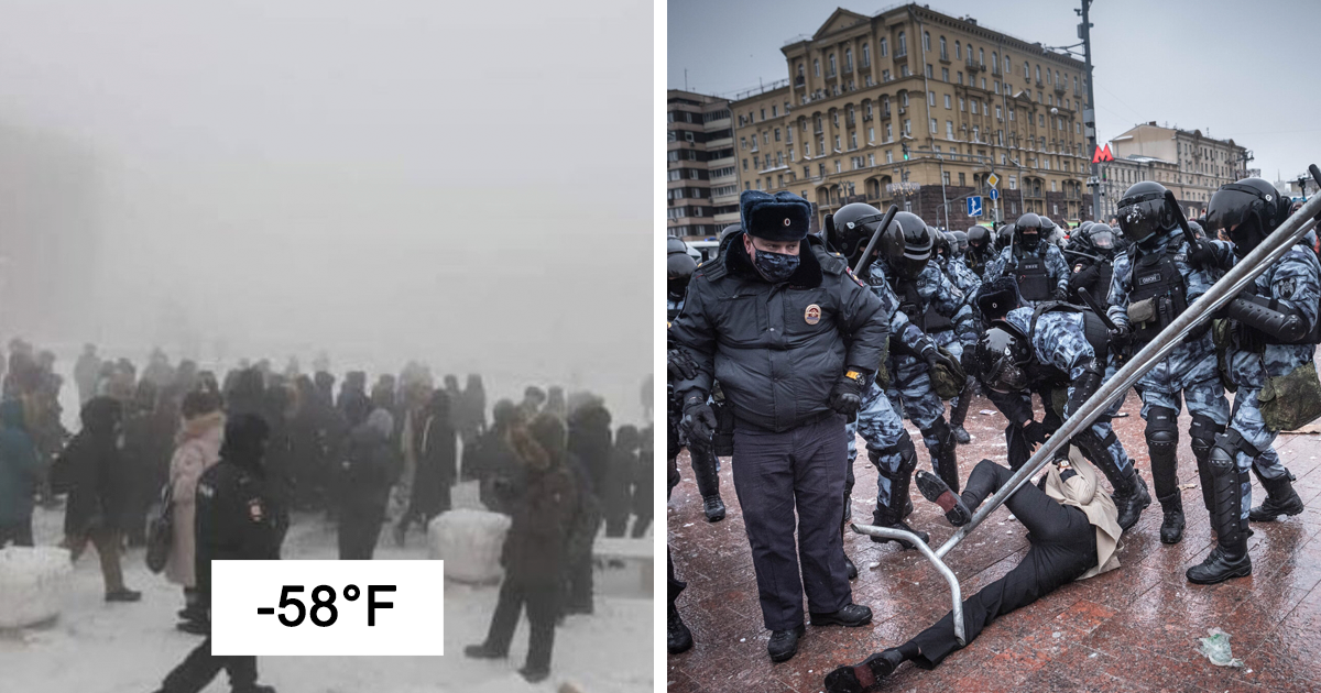 27 Photos From Massive Anti-Corruption Protests Happening In Russia Right Now