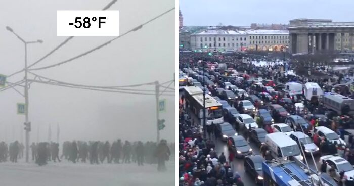 27 Photos Capturing The Massive Anti-Corruption Protests That Are Currently Happening In Russia