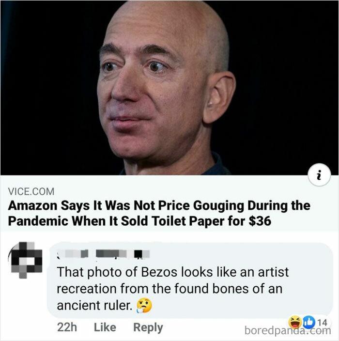 King Bezos The Burned
