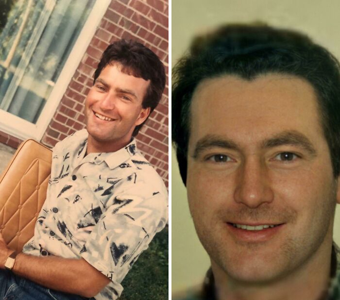 Ancestry Helped My Father Find Out Who His Father Was! My Father(Left) Was Born In The 60's And Grew Up Not Knowing Who His Biological Father Was. After Buying Him A Dna Test We Found Out His Father Had Passed Away But Dna Does Not Lie! Am I The Only One Who Thinks They Could Be Twins?