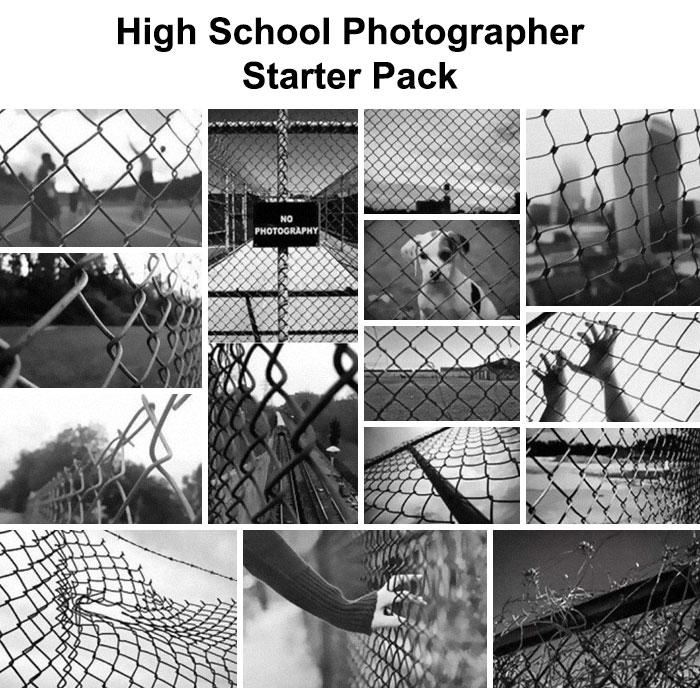 High School Photographer Starter Pack