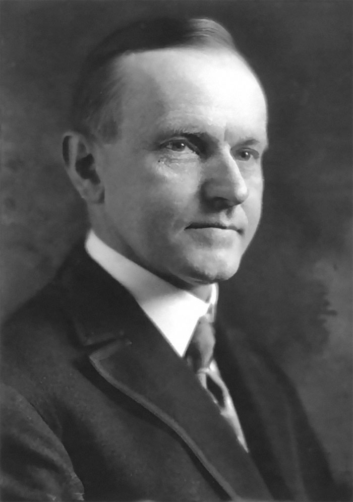 """Til That Us President Calvin """"Silent Cal"""" Coolidge Used To Buzz For His Secret Service And Then Would Hide Under His Desk While They Frantically Searched For Him"""