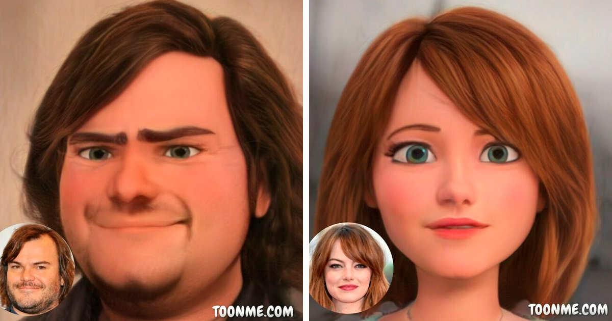 104 Famous People Turned Into Pixar Characters With The Help Of ToonMe