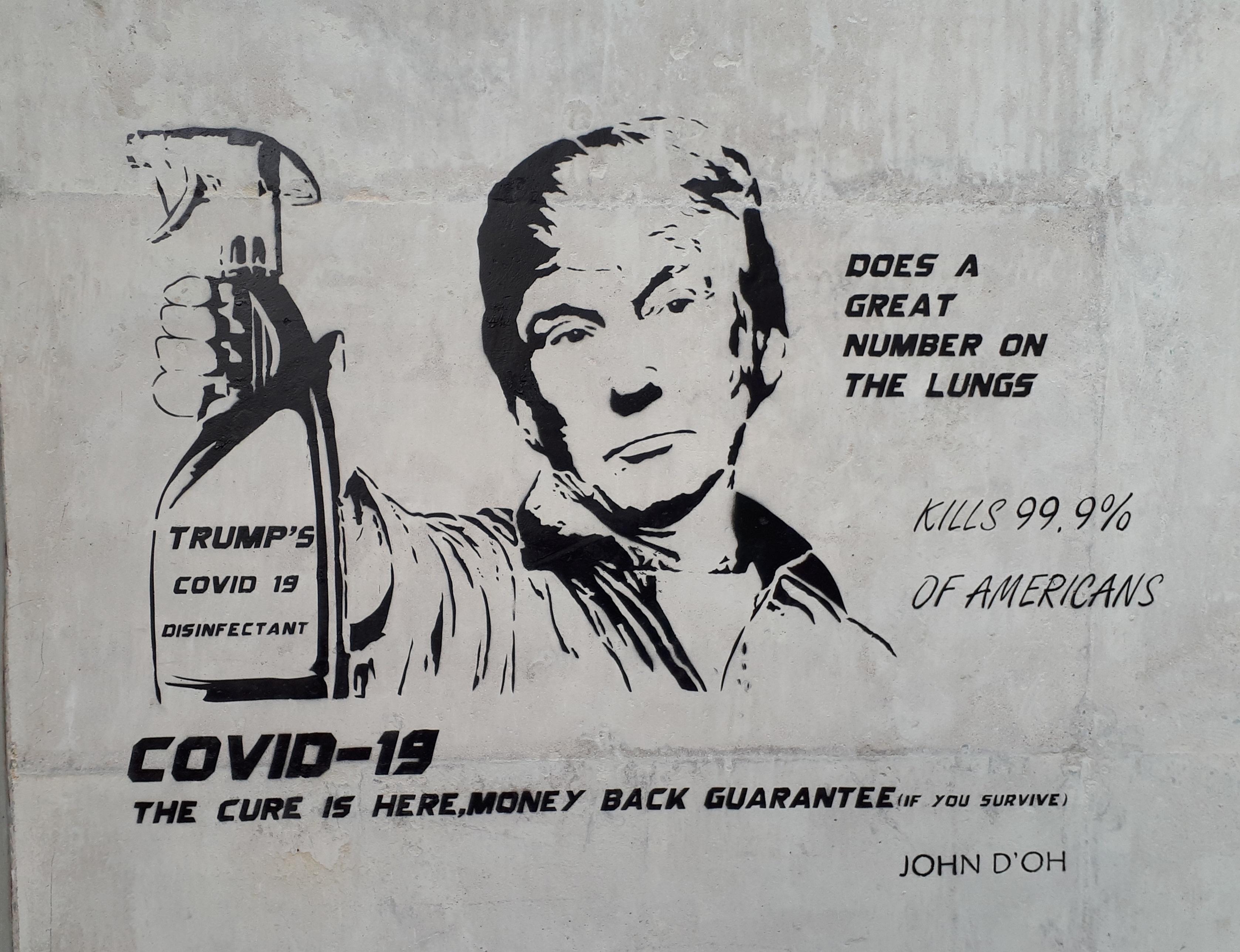 Coronavirus Street Art By John D'oh