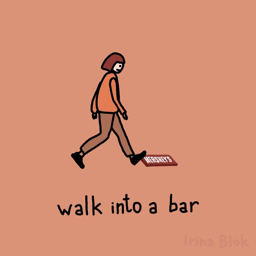 Walk Into A Bar