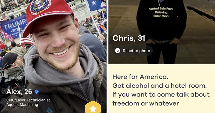 Women Are Trolling Capitol Rioters By Matching With Them On Dating Apps Just To Send Their Info To The FBI
