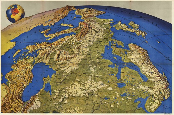 Europe Seen From Russia (Made In The 1950s)
