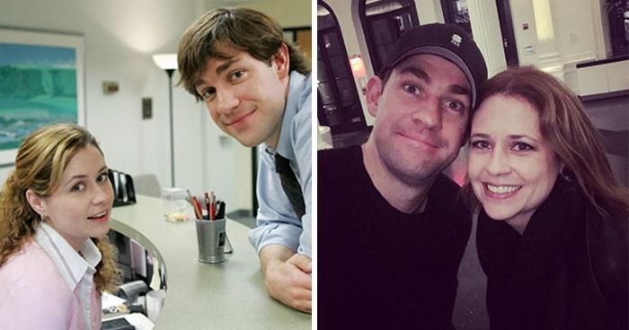 The Office, Pam y Jim (Jenna Fischer y John Krasinski)