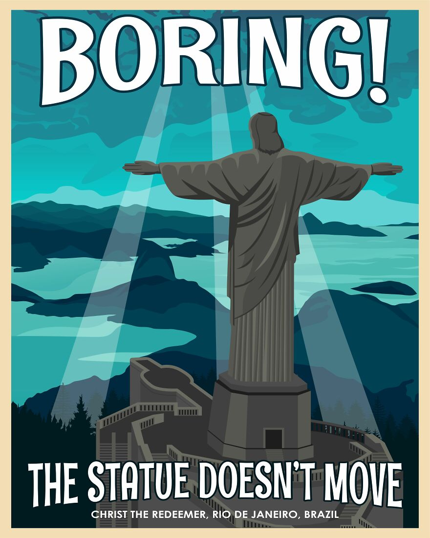 Some People Have Really High Expectations From A Statue Overlooking Rio De Janeiro