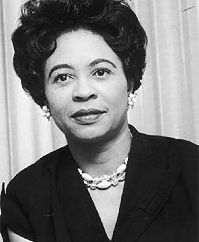 """Daisy Lee Gatson Bates - Became An Advocate For A Group Of 9 Black Students Known As """"The Little Rock Nine"""" And Fought For Their Right To Attend An All-White High School"""