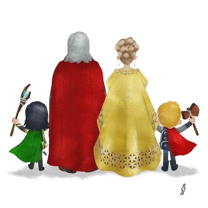 Marvel (Asgard Family)