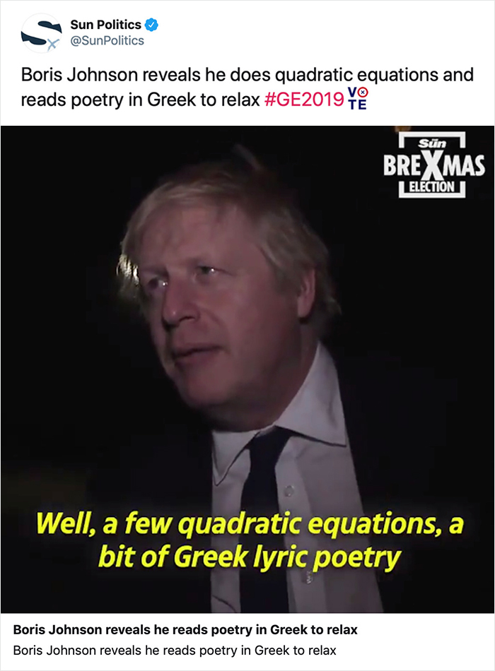 The Brexit Guy Is Super Duper Extra Verysmart