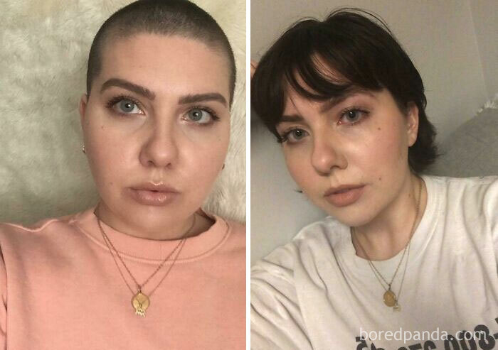 10 meses dejándome crecer el pelo