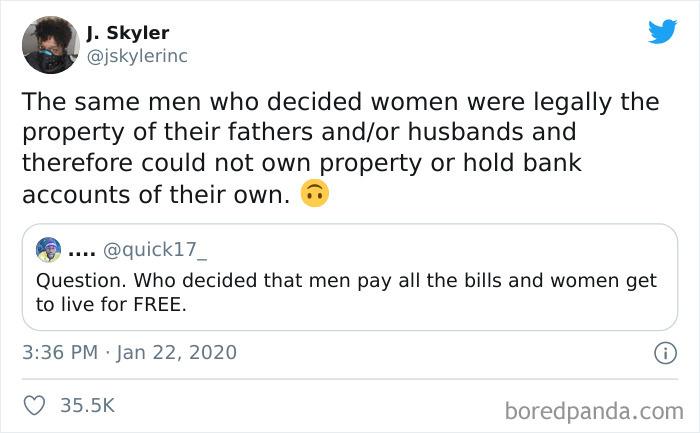 Misogyny Running Deep
