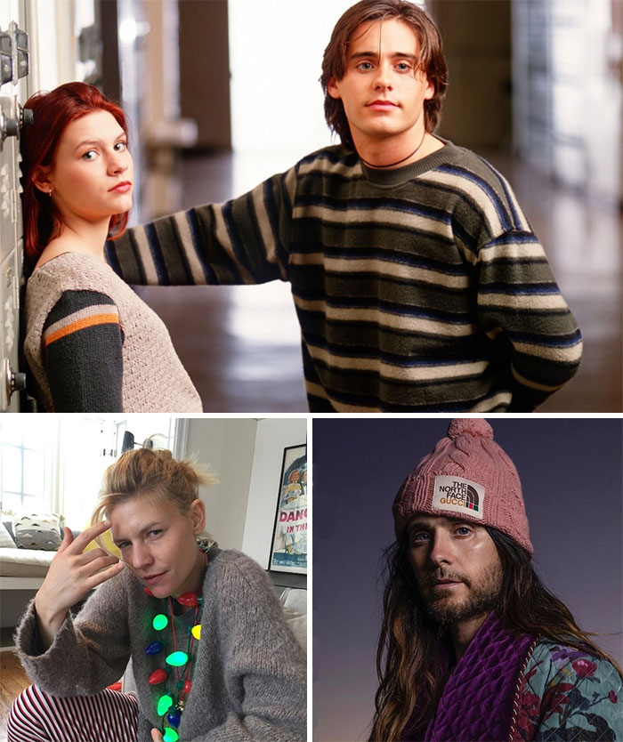 Es Mi Vida, Jordan Catalano y Angela Chase (Jared Leto y Claire Danes)