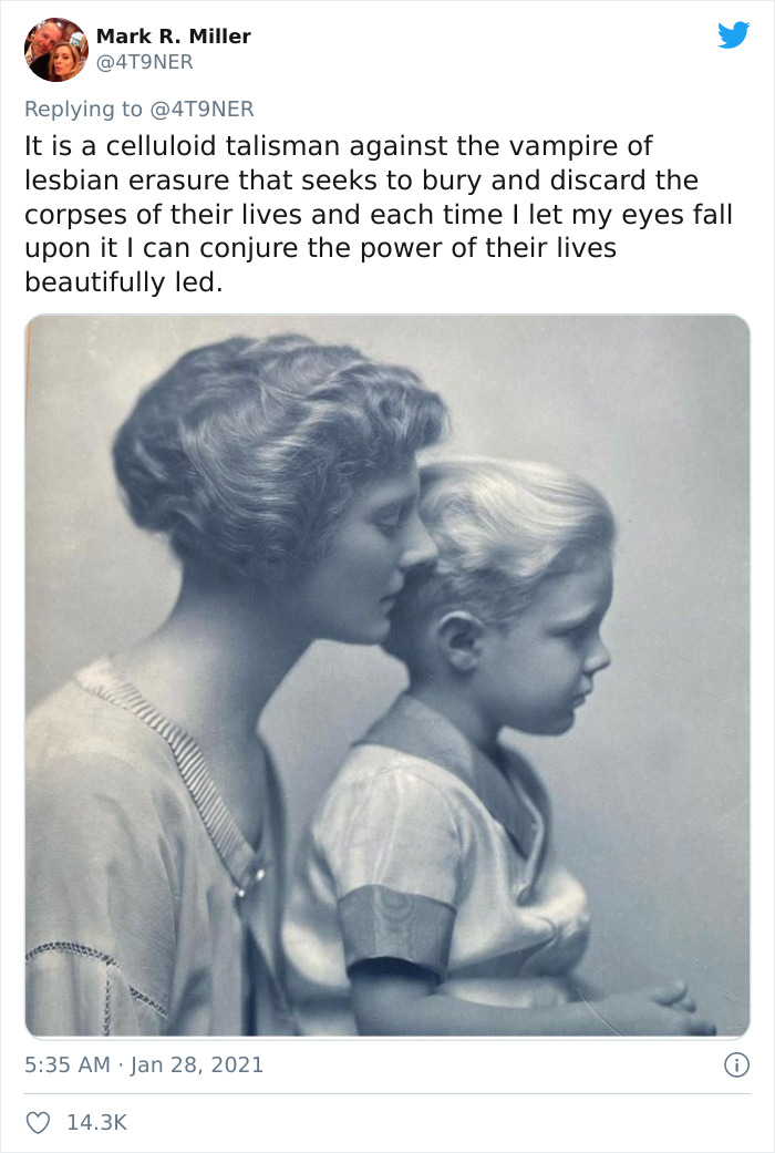 This 100-Year-Old Photograph Showcases A Same-Sex Couple Who Raised A Child Together