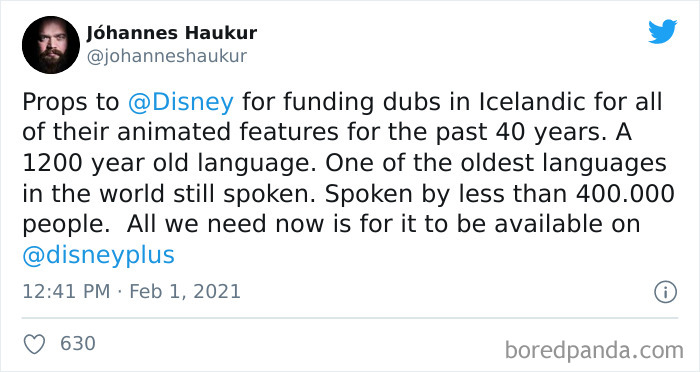 Disney+ Launched In Iceland Without Icelandic Dubbing, People Didn't Like It So Much That Their Minister Sent A Letter To Disney About It