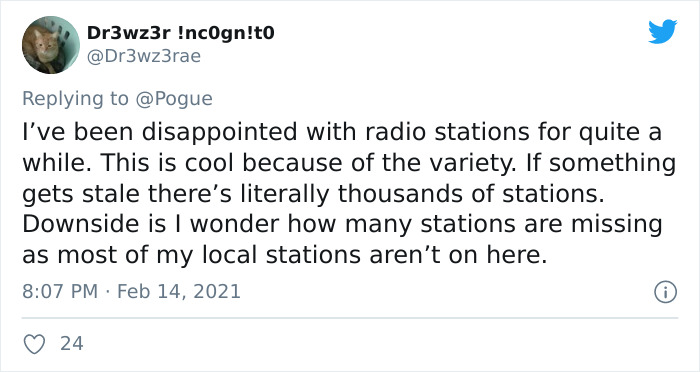Turns Out, There's An Online Map That Allows People To Tune In To Any Radio Station Around The Globe