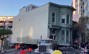 Un hombre pagó 400,000$ para que su casa victoriana de 2.6$ millones fuera trasladada 7 manzanas en San Francisco