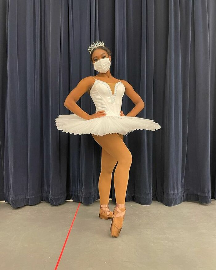Video Of 18 Y.O. Ballerina's Reaction To Finally Getting Pointe Shoes Matching Her Skin Tone Goes Viral