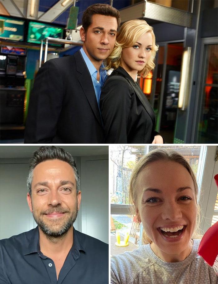Chuck, Chuck Bartowski y Sarah Walker (Zachary Levi e Yvonne Strahovski)