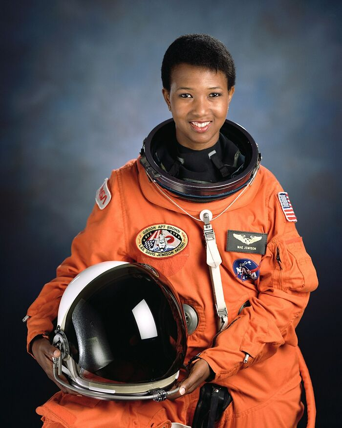 Mae C. Jemison - The First African American Female Astronaut