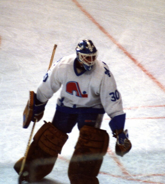 Til That In 1989, The Buffalo Sabres Goalie Had His Neck Sliced By Another Players Skate, Severing His Carotid Artery, Resulting In So Much Blood Loss That It Caused Eleven Fans To Faint, Two More To Have Heart Attacks, And Three Players To Vomit On The Ice. His Life Was Saved By The Team Trainer