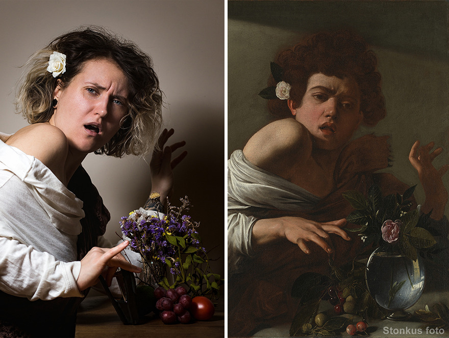 "Caravaggio ""Boy Bitten By A Lizard"" (1596)"