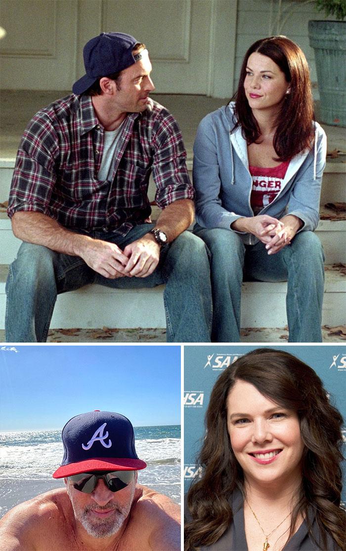Las Chicas Gilmore, Luke y Lorelai (Scott Patterson y Lauren Graham)