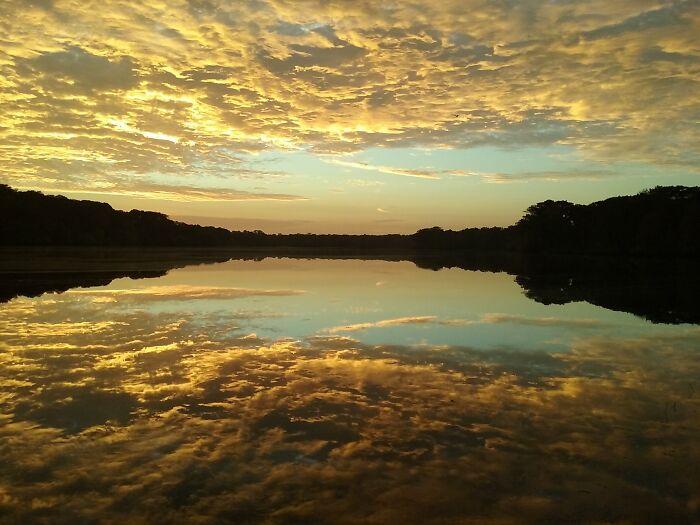 Sunrise At Silver Lake