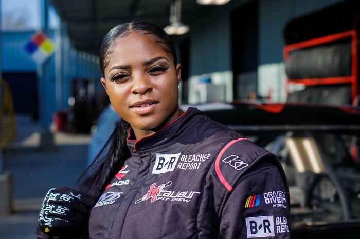 Brehanna Daniels - The First Black Female Tire Changer In Nascar