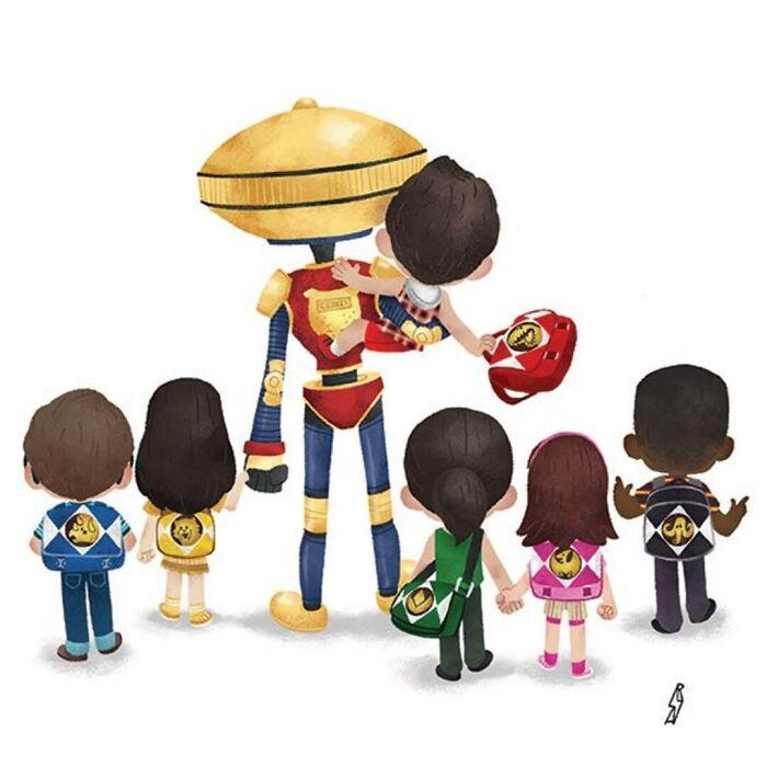 Power Rangers (Rangers Family)