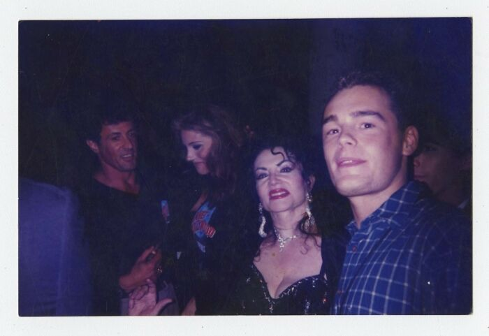 Sylvester Stallone (In The Background)