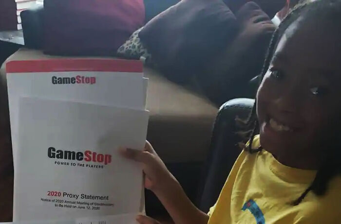 5th Grader Makes $3,200 After Being Gifted $6 GameStop Shares Back In 2019