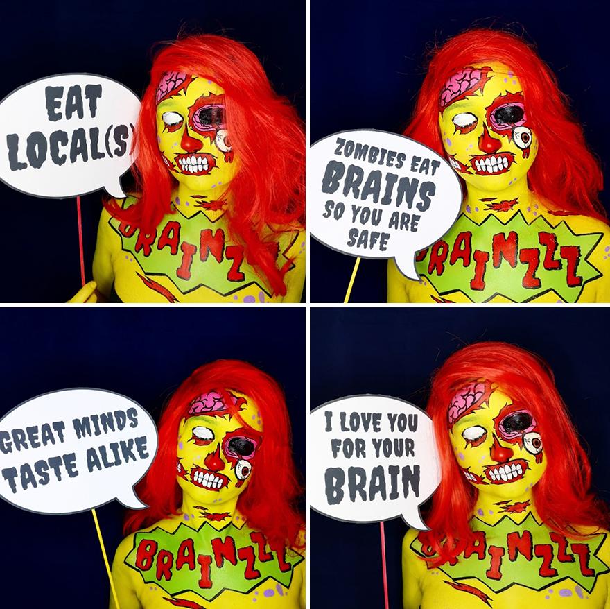 2019 October - Pop Art Zombie