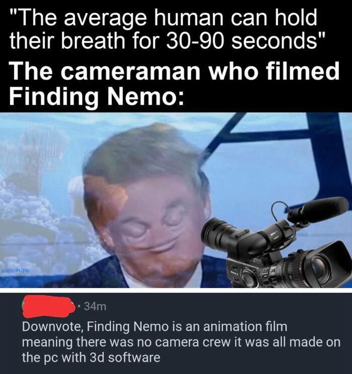 He's Too Smart