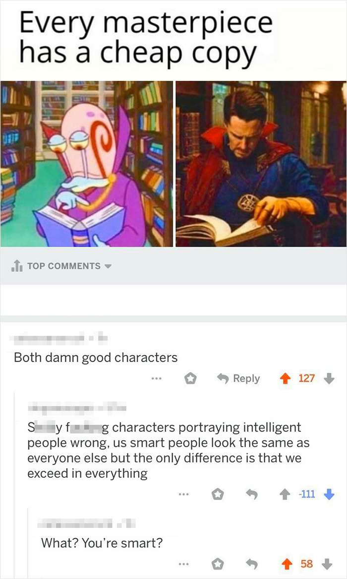 """Portraying Intelligent People """"Wrong"""""""