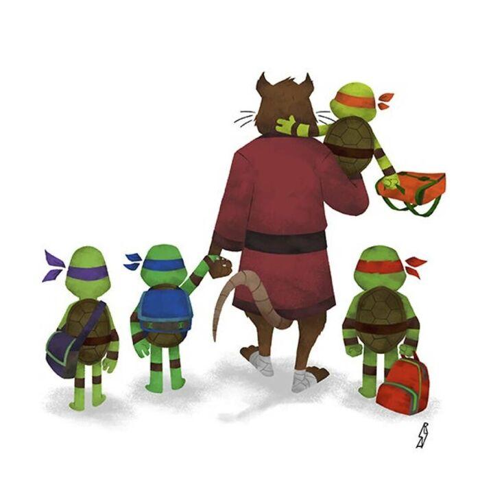 Teenage Mutant Ninja Turtles (Ninjas Family)
